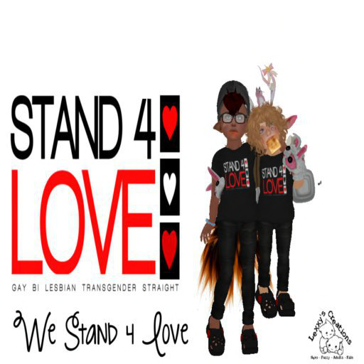 stand4love-CurleySyd Pawpad and RoseMadderFhang