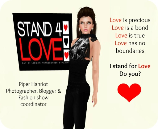 STAND4LOVE: Piper Hanriot