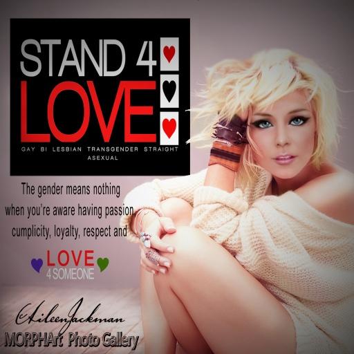 STAND4LOVE Aileen Jackman