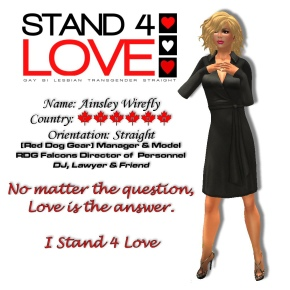 STAND4LOVE Ainsley Wirefly