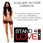 STAND4LOVE Alegra Actor