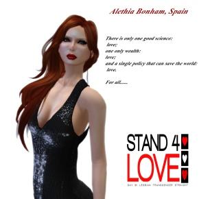 STAND4LOVE Alethia Bonham