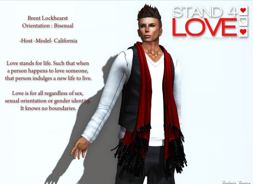 STAND4LOVE Brent Lockhearst