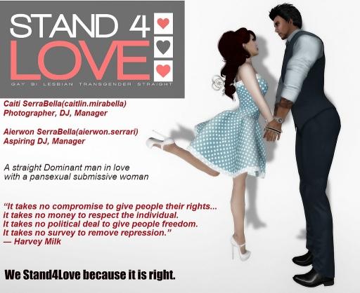 STAND4LOVE Caiti SerraBella and Aierwon SerraBella