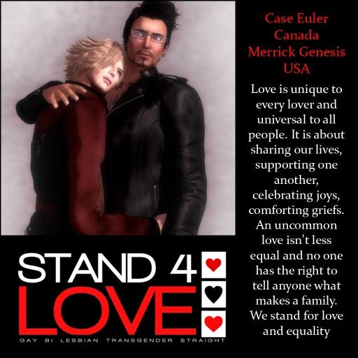 STAND4LOVE Case Euler and Merrick Genesis