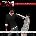 STAND4LOVE Cold Jupiter Warm Clarity