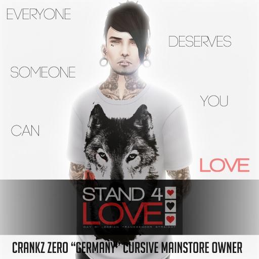 STAND4LOVE Crankz Zero