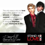 STAND4LOVE Daemyn JJ