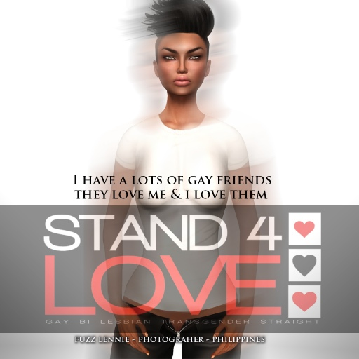 STAND4LOVE Fuzz Lennie