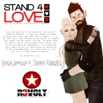 STAND4LOVE Gensa Jameson and Tommie Diabolito
