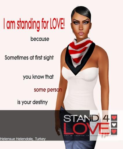 STAND4LOVE Helensue Helendale