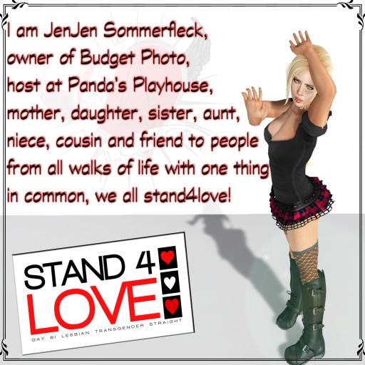 STAND4LOVE JenJen Sommerfleck