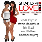 STAND4LOVE Kaliki Melody and Barbie Ferrari