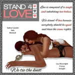 STAND4LOVE Katina Cazalet and Lou Moonlight
