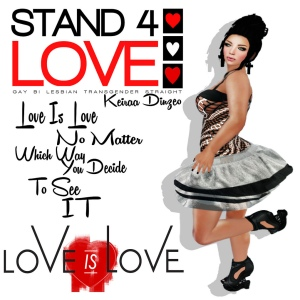 Stand4Love Keiraa Dinzeo