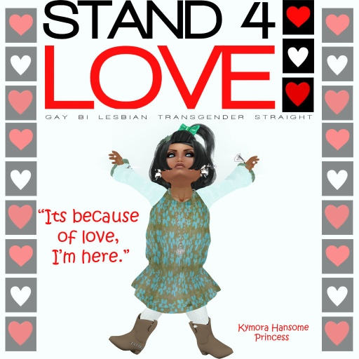 STAND4LOVE Kymore Hansome
