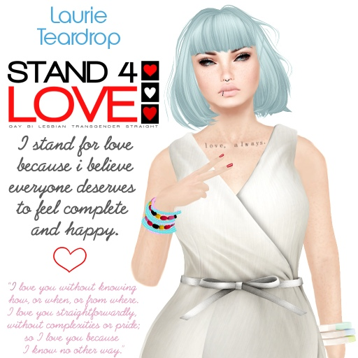 STAND4LOVE Laurie Teardrop