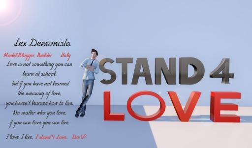 STAND4LOVE Lex Demonista
