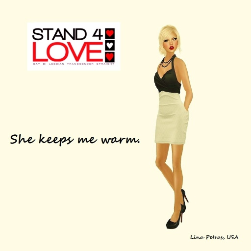 STAND4LOVE Lina Petras