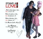 STAND4LOVE Liz Mahogani and Sam Blaylock