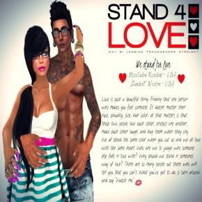 STAND4LOVE MissJaden Resident and ZanderT Weston