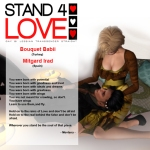STAND4LOVE Mitgard Irad and Bouquet Babii