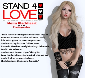 Stand4Love Moira Blackheart