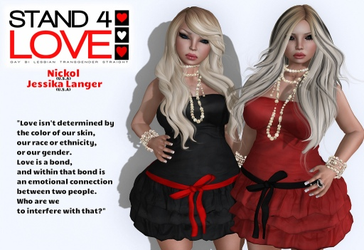 STAND4LOVE Nickol and Jessika Langer