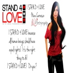 STAND4LOVE Nina Carrasco