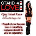 STAND4LOVE Ripley Firehawk-Razor