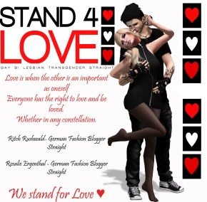 STAND4LOVE Ritch Rushwald and Rosalie Ergenthal