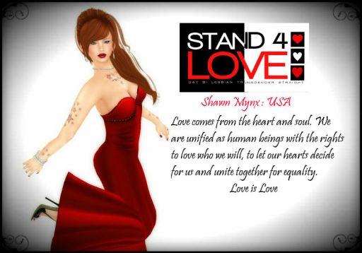 Stand4Love Shawn Mynx