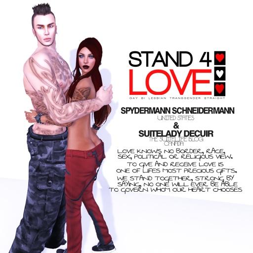 STAND4LOVE Spydermann Schneidermann and SuiteLady Decuir