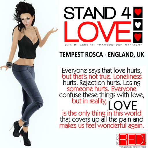 STAND4LOVE Tempest Rosca