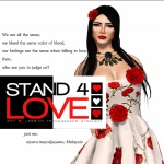 STAND4LOVE Teyara Mayo