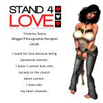 STAND4LOVE Trixianna Saenz