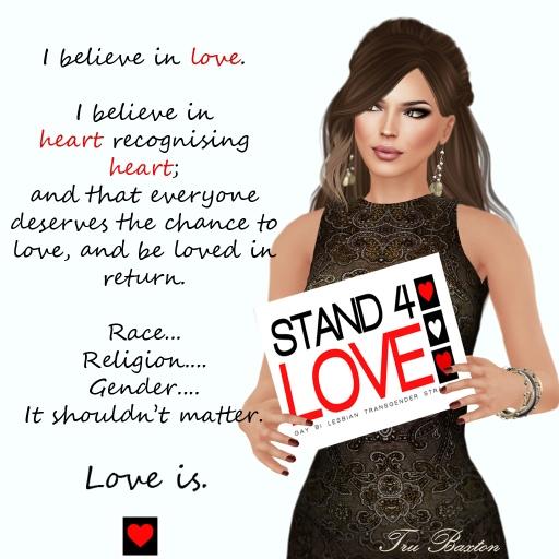 Stand4Love Tru Baxton