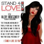 STAND4LOVE Valory Montgomery