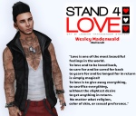 Stand4Love Wesley Madenwald