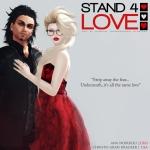 STAND4LOVE: Ana Noirbleu and Christo Grah Kracker