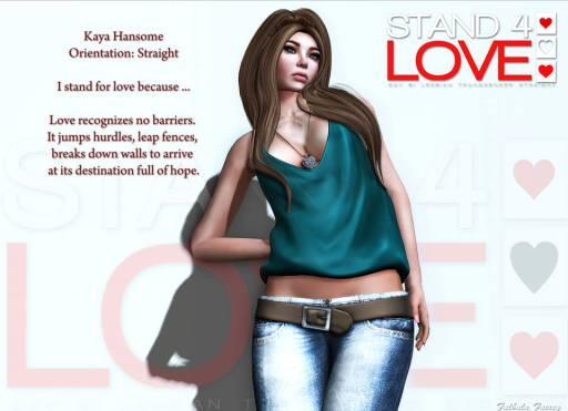 Stand4love Kaya Hansome