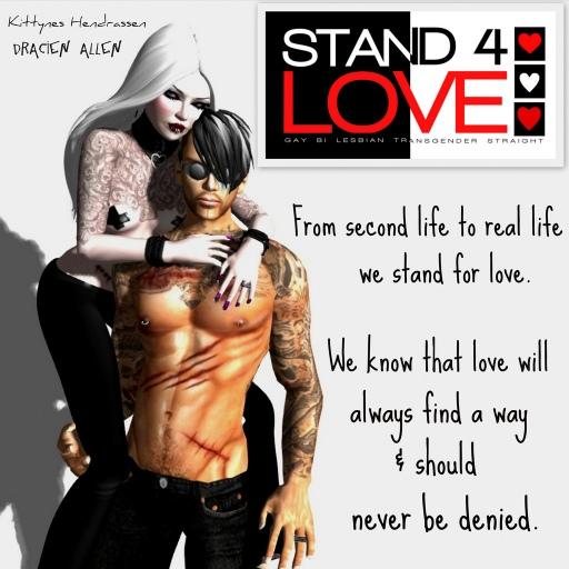 STAND4LOVE: Kittyness Hendrassen and Dracien Allen