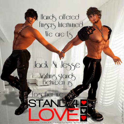 Jack & Jesse Stand4Love 2013