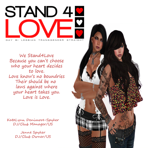 KateLynn Denimore-Spyker & Jenne Spyker - Stand4Love