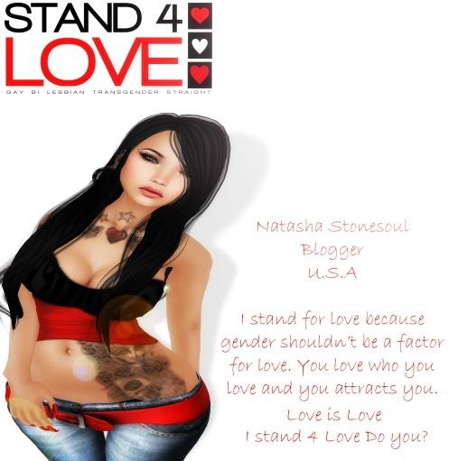 Natasha Stonesouls Stand4Love