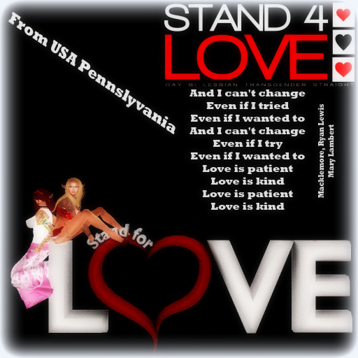 Stand 4 Love (justiceEliza Resident