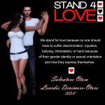 Stand 4 Love - Lourdes Denimore