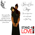 Stand 4 Love Snow Alchemi and James Blogger