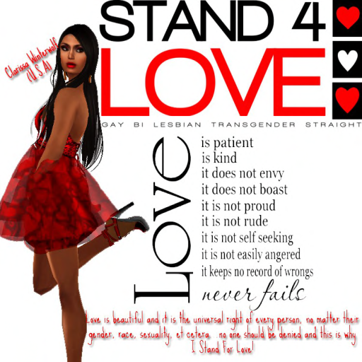 Stand for Love Clarissa Winterwolf