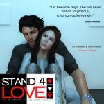 STAND4LOVE Alf Whittaker and Tania Tebaldi